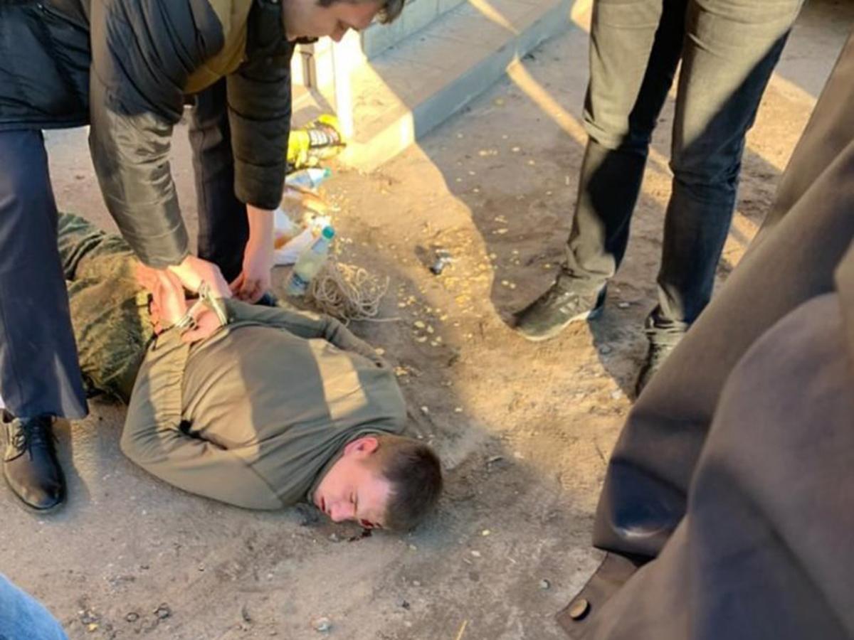 Задержание Антона Макарова