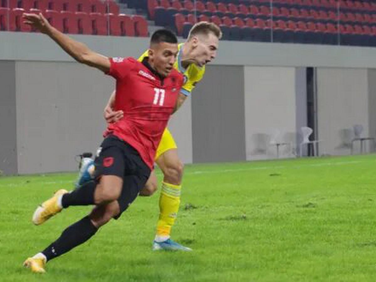 Футболист сборной Казахстана забил невероятный гол в Лиге наций
