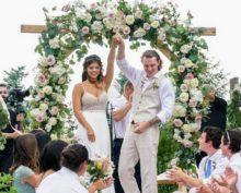 Жених в танце ударил невесту ногой по голове