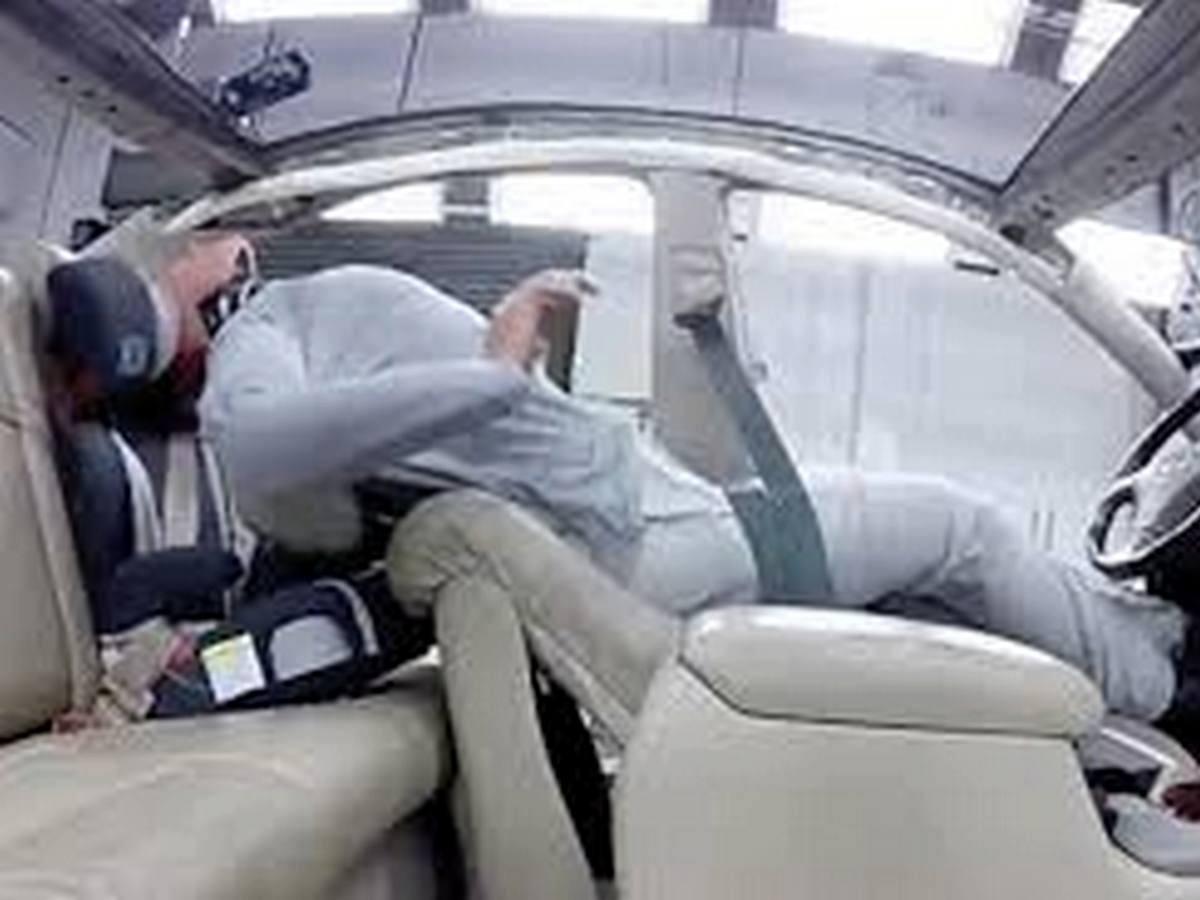Краш-тест подтвердил опасность кресел в американских автомобилях
