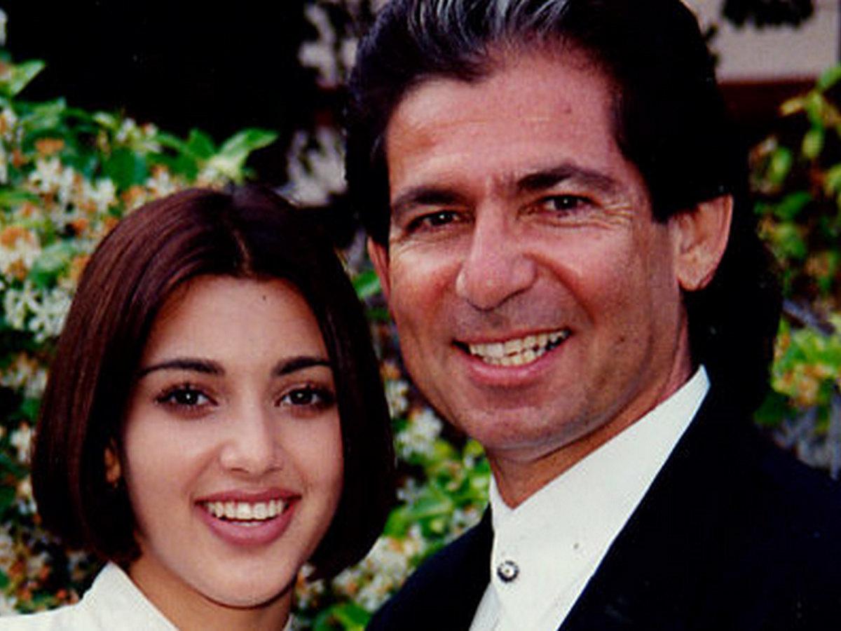 Ким Кардашян с отцом