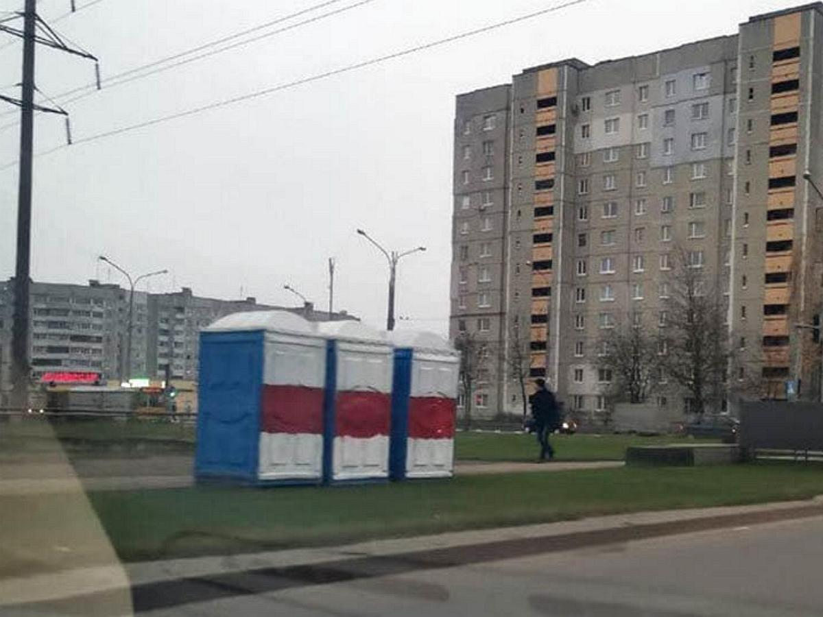 Жители протестного района под Минском остались без воды и отопления