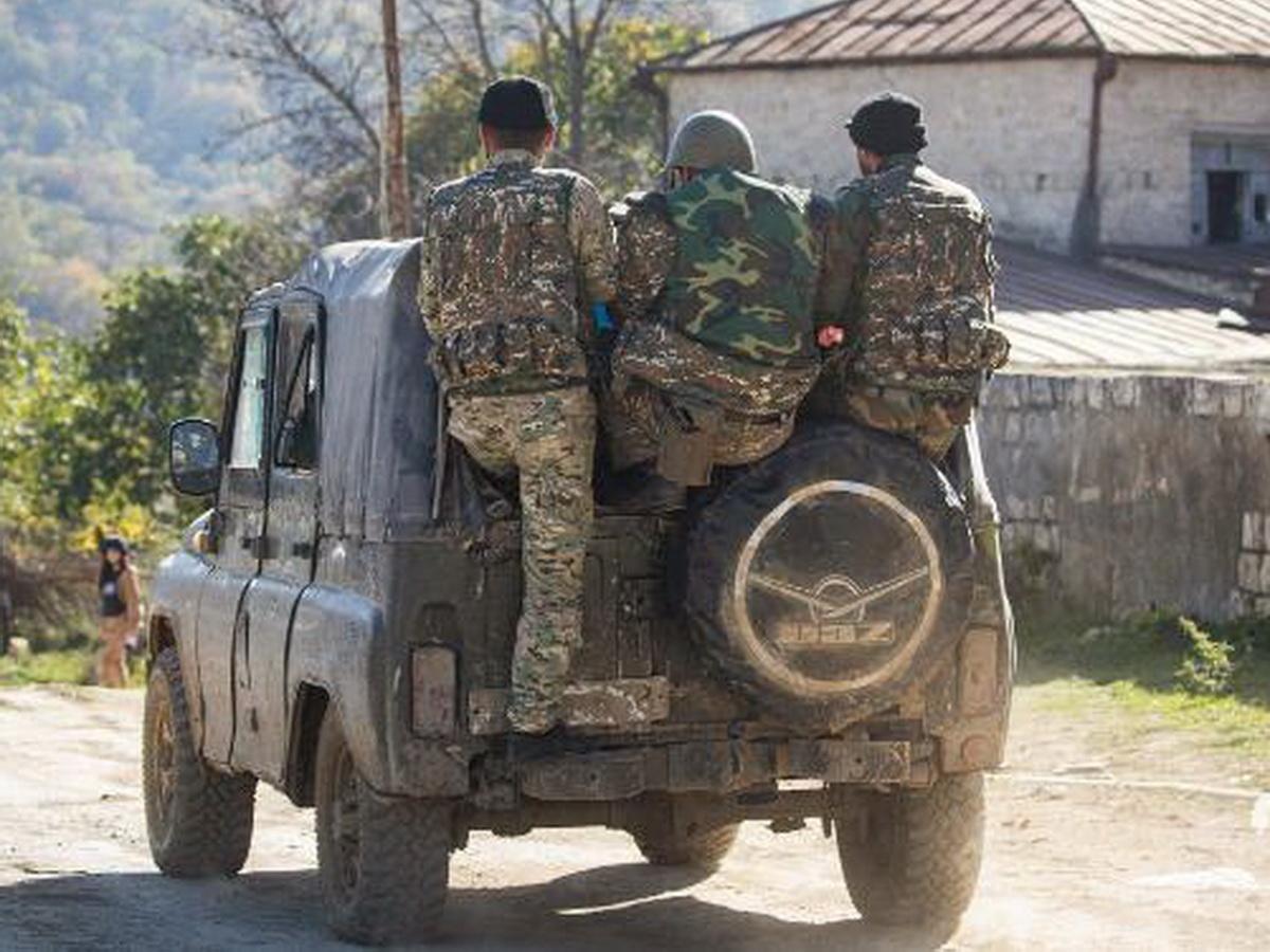 Наемник в Нагорном Карабахе