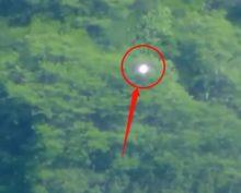 В небе над Мексикой сняли светящийся НЛО