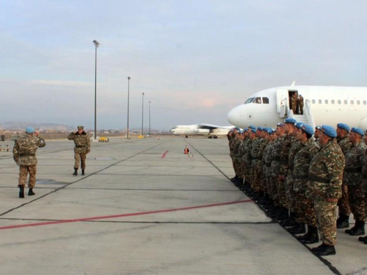 российских миротворцев встретили в Армении