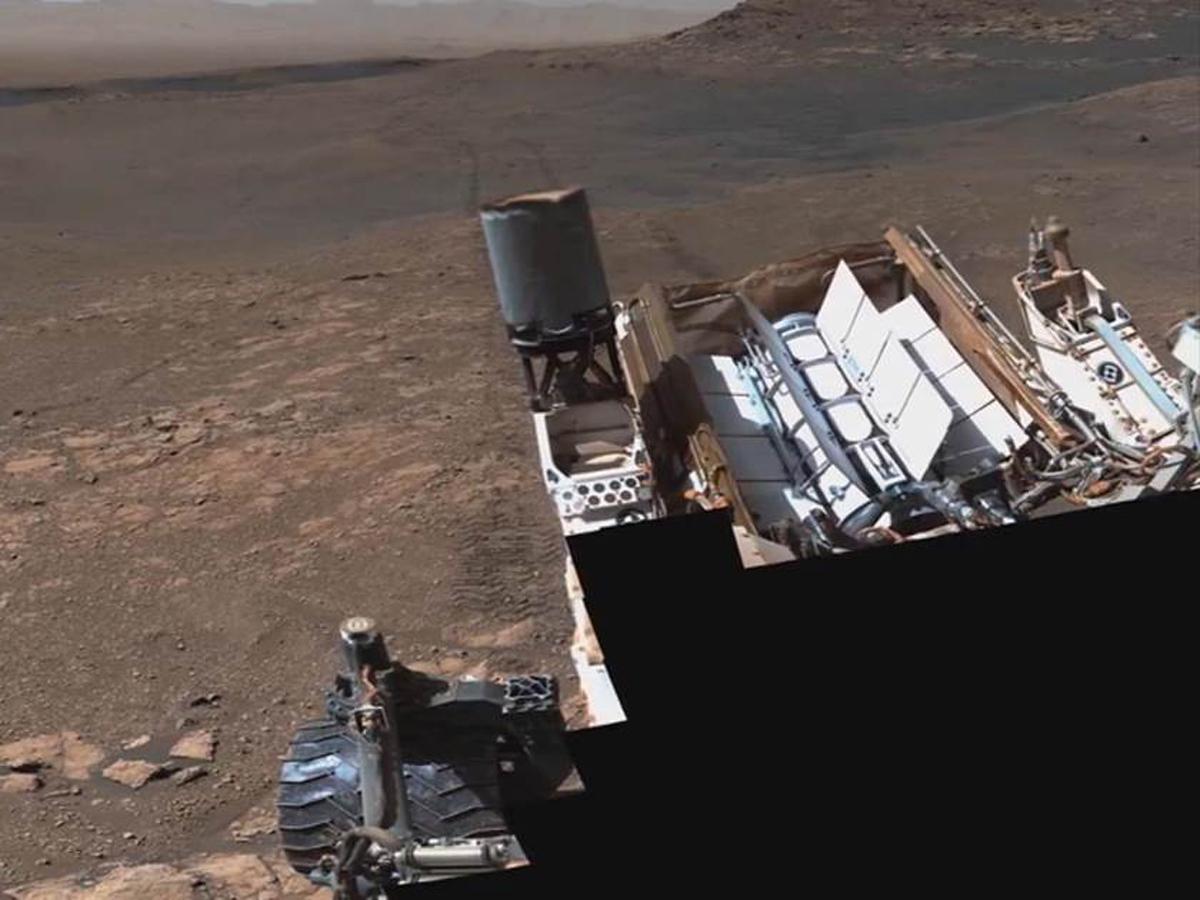 Агентство NASA опубликовало анимированное видео посадки на Марс