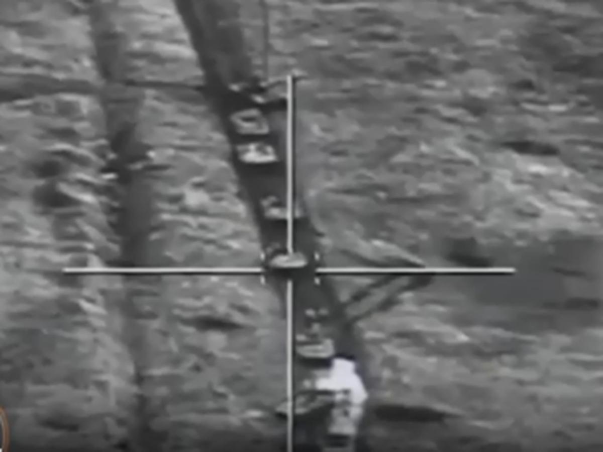 Азербайджан попал ракетой в открытый люк танка