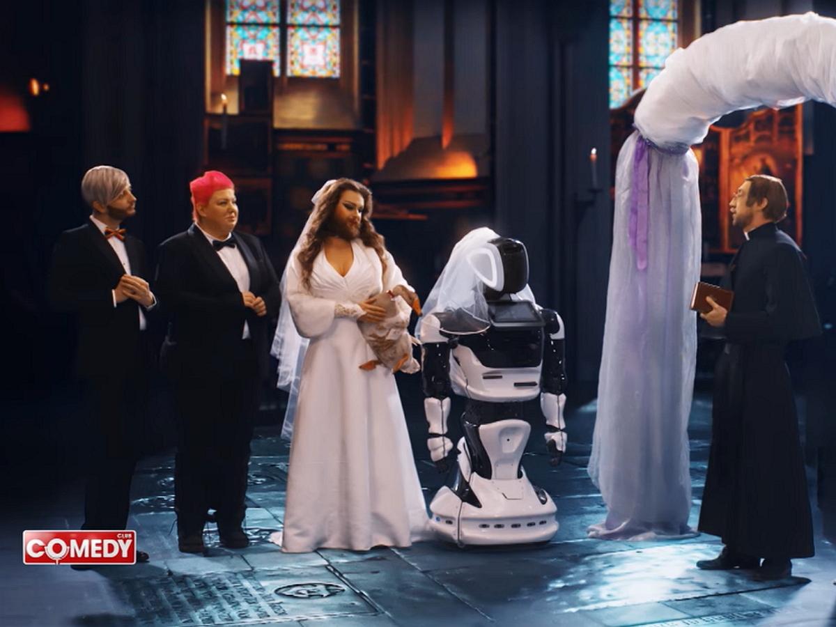 """""""Глобальное потупление"""": видеоновости будущего на ближайшие 100 лет от Comedy Club восхитили Сеть"""