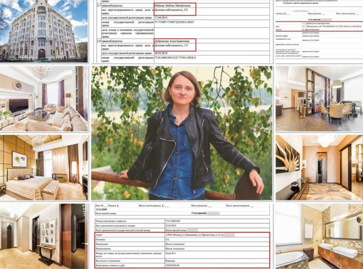 Квартира Анны Дубровской
