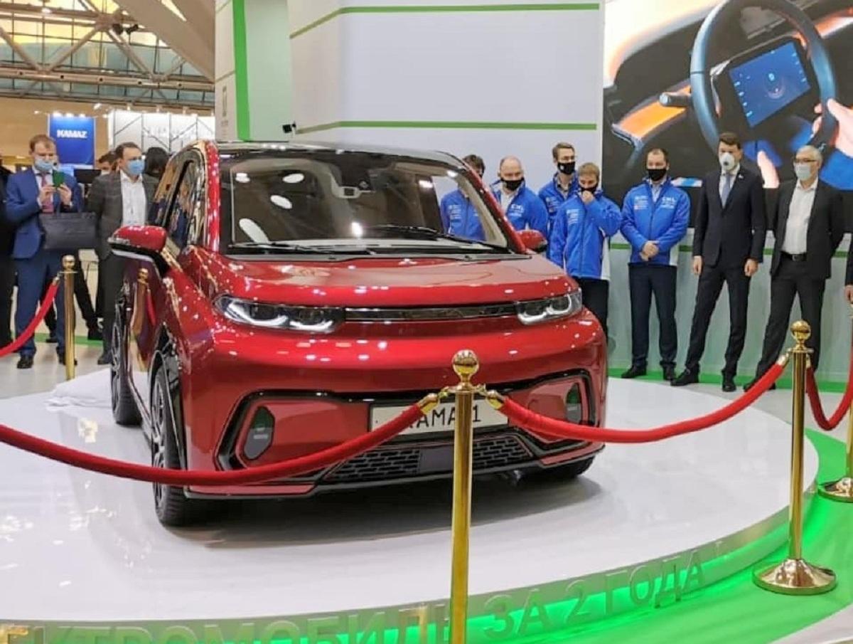 КамАЗ представил первый российский электромобиль «Кама-1»