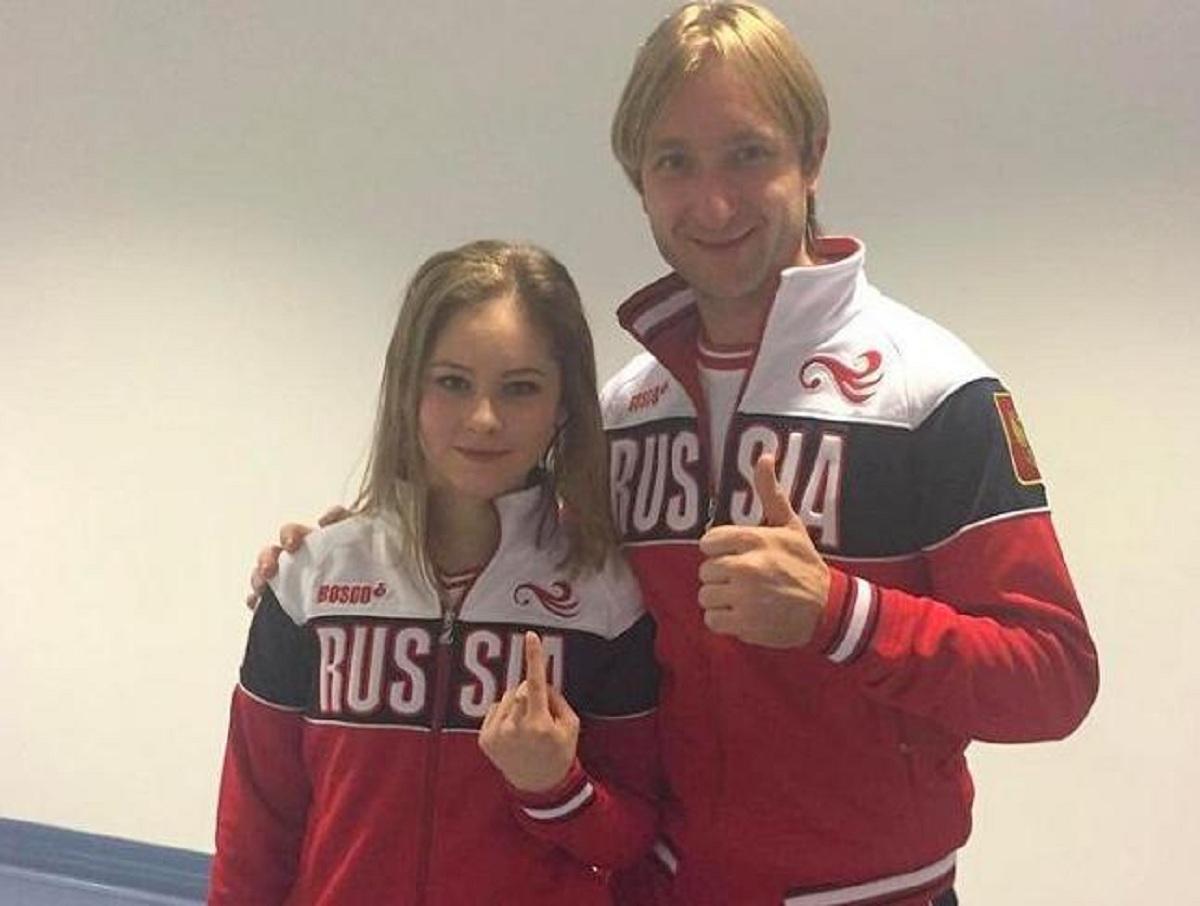 Юлия Липницая вошла в тренерскую команду Плющенко