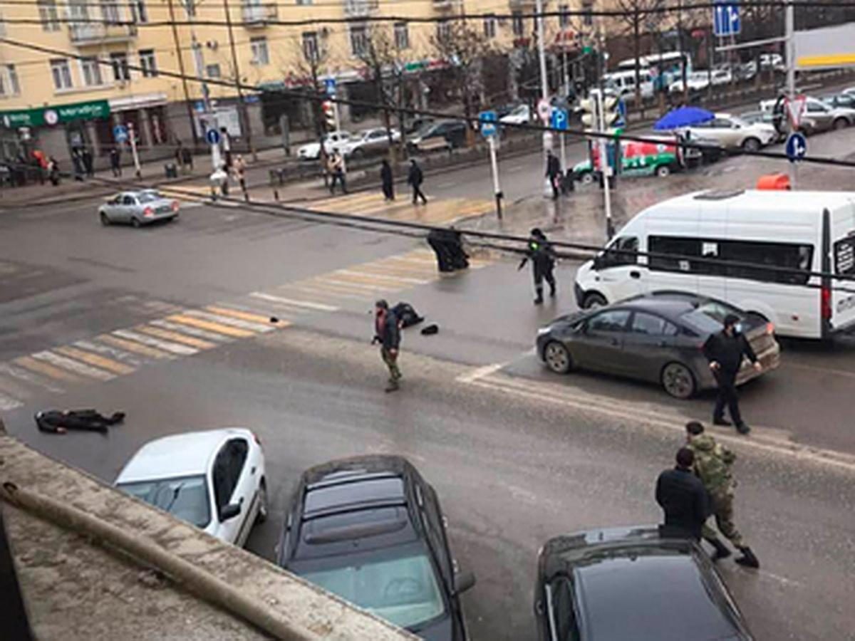Убиты полицейские в Грозном