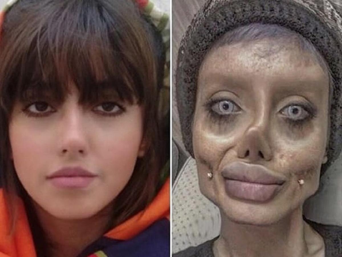 «Иранская Анджелина Джоли», осужденная на 10 лет, вышла на свободу
