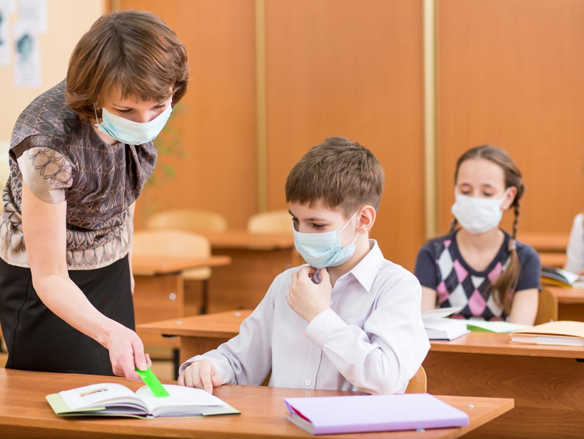 Коронавирус в школе