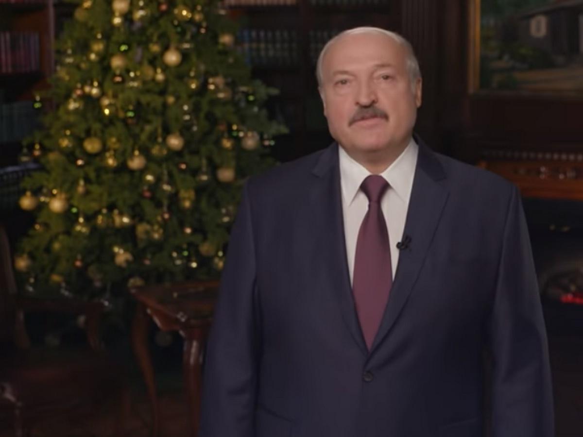 Новогоднее обращение Лукашенко