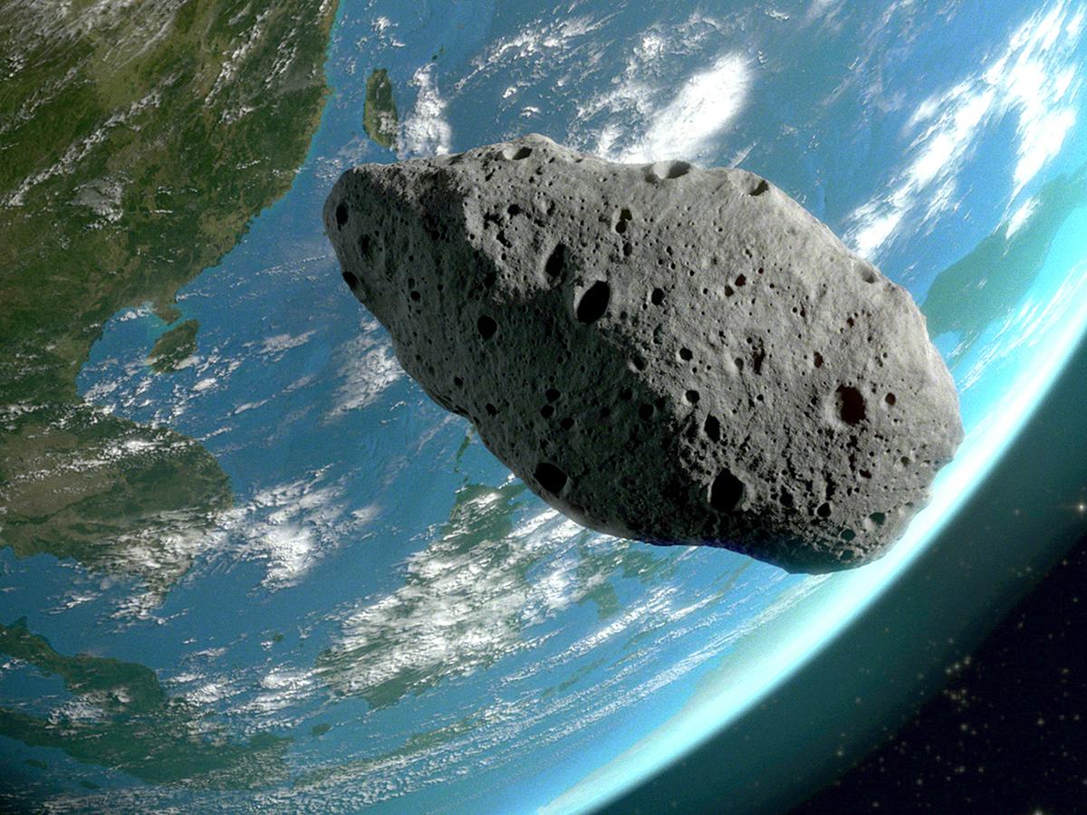NASA: кЗемлелетят пять астероидов