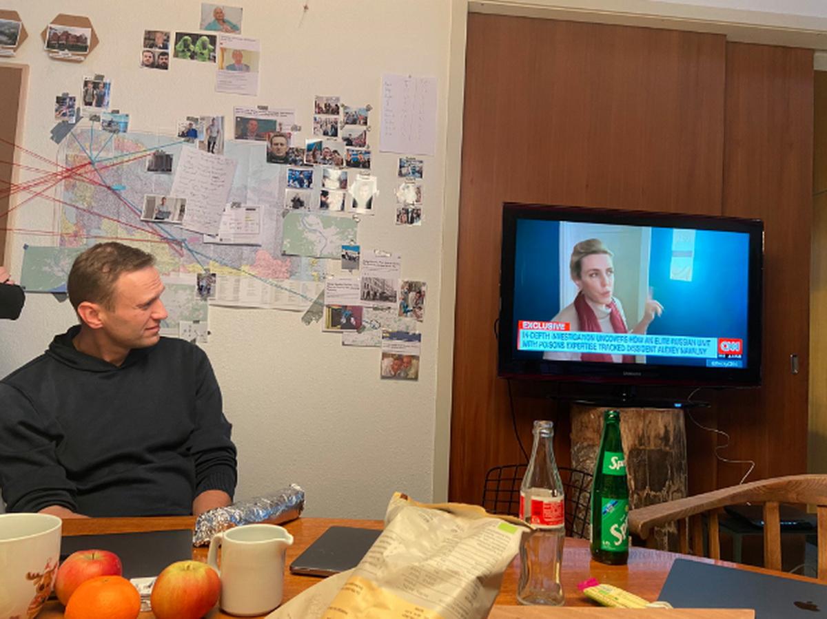 ФСБ об разговоре Навального со своим