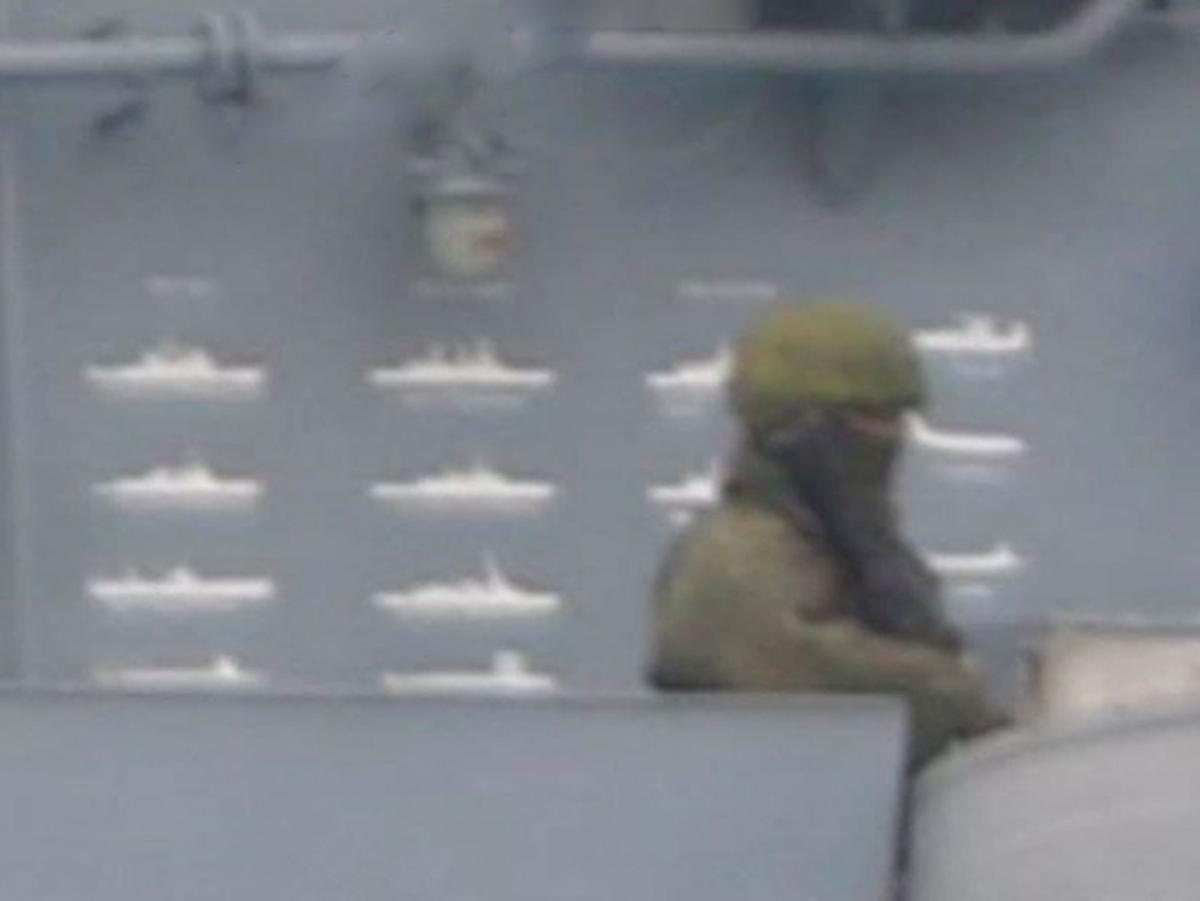 Отметки кораблей НАТО