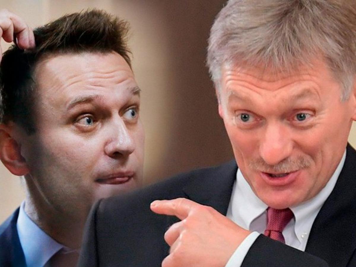 Песков прокомментировал видео Навального