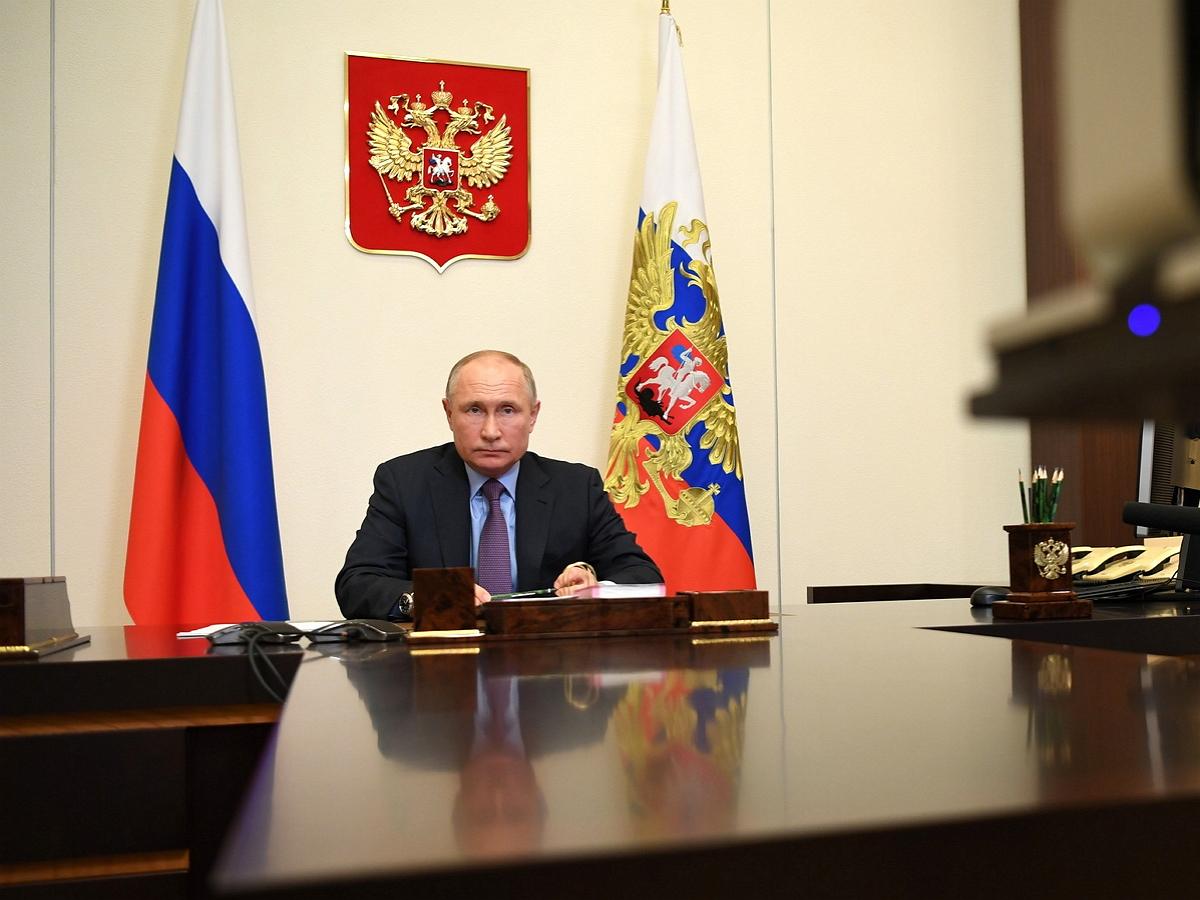 «Оторопь берет»: Путин высказался о российском телевидении