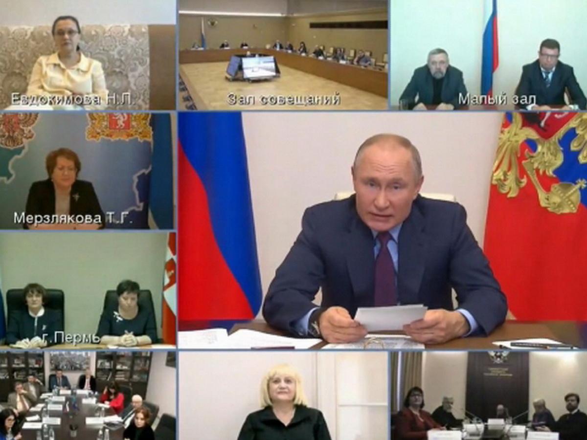 Путин на СПЧ о Навальном