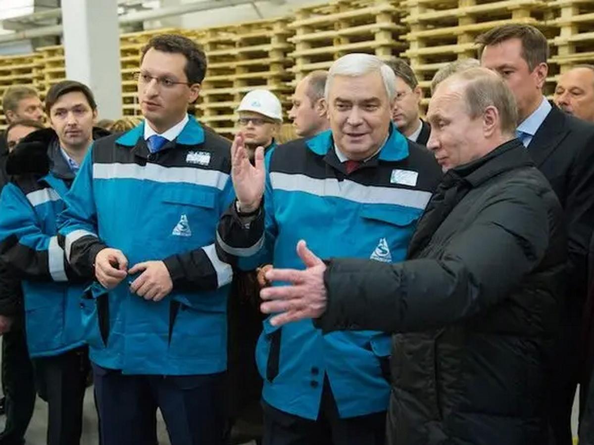 Путин и Шамалов