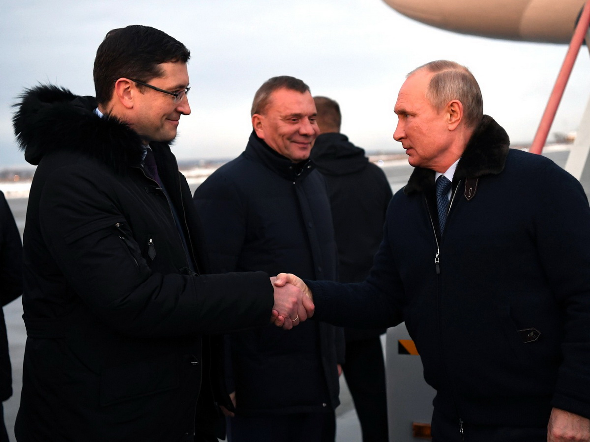Путин без маски