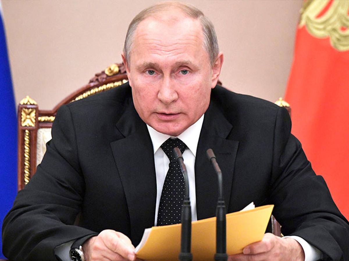 Путин о вакцинацию от коронавируса на следующей неделе
