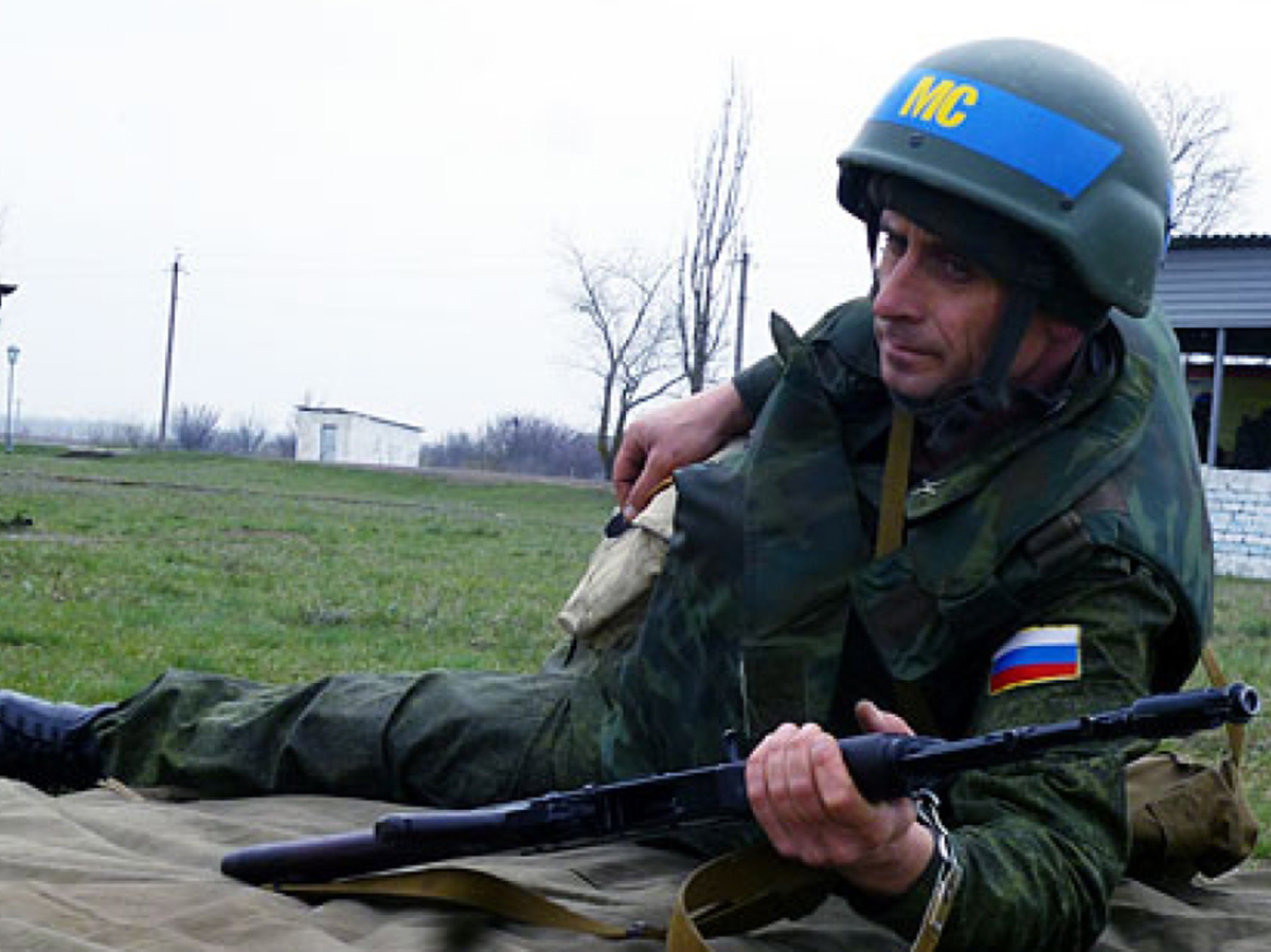 Российские войска в Приднестровье