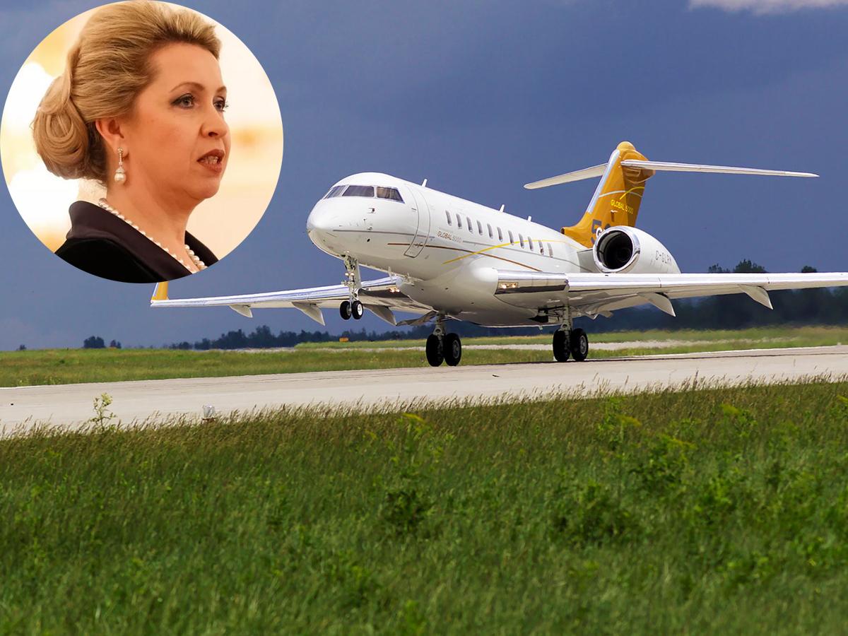 """СМИ: """"самолет жены Медведева"""" слетал в Индонезию (ФОТО)"""