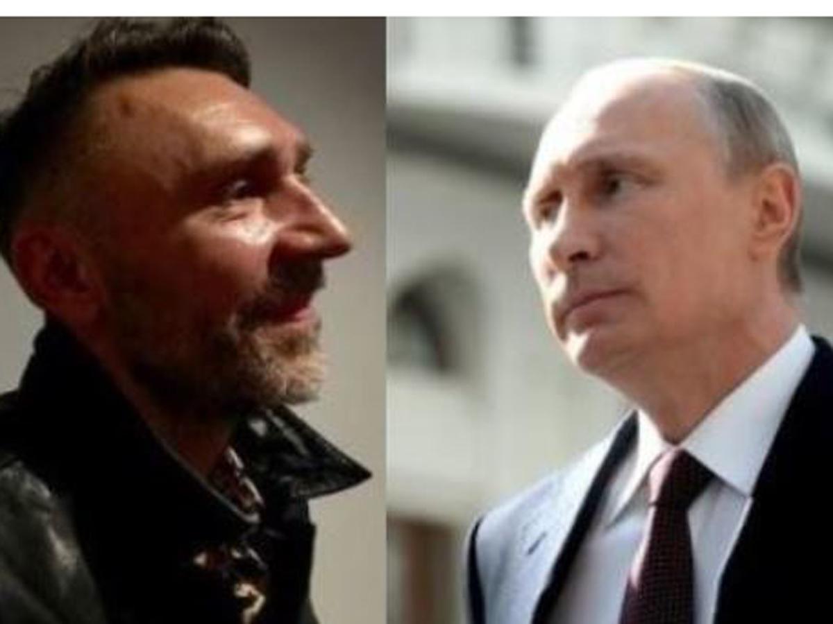 Шнуров спросил Путина о Трампе и русских хакерах