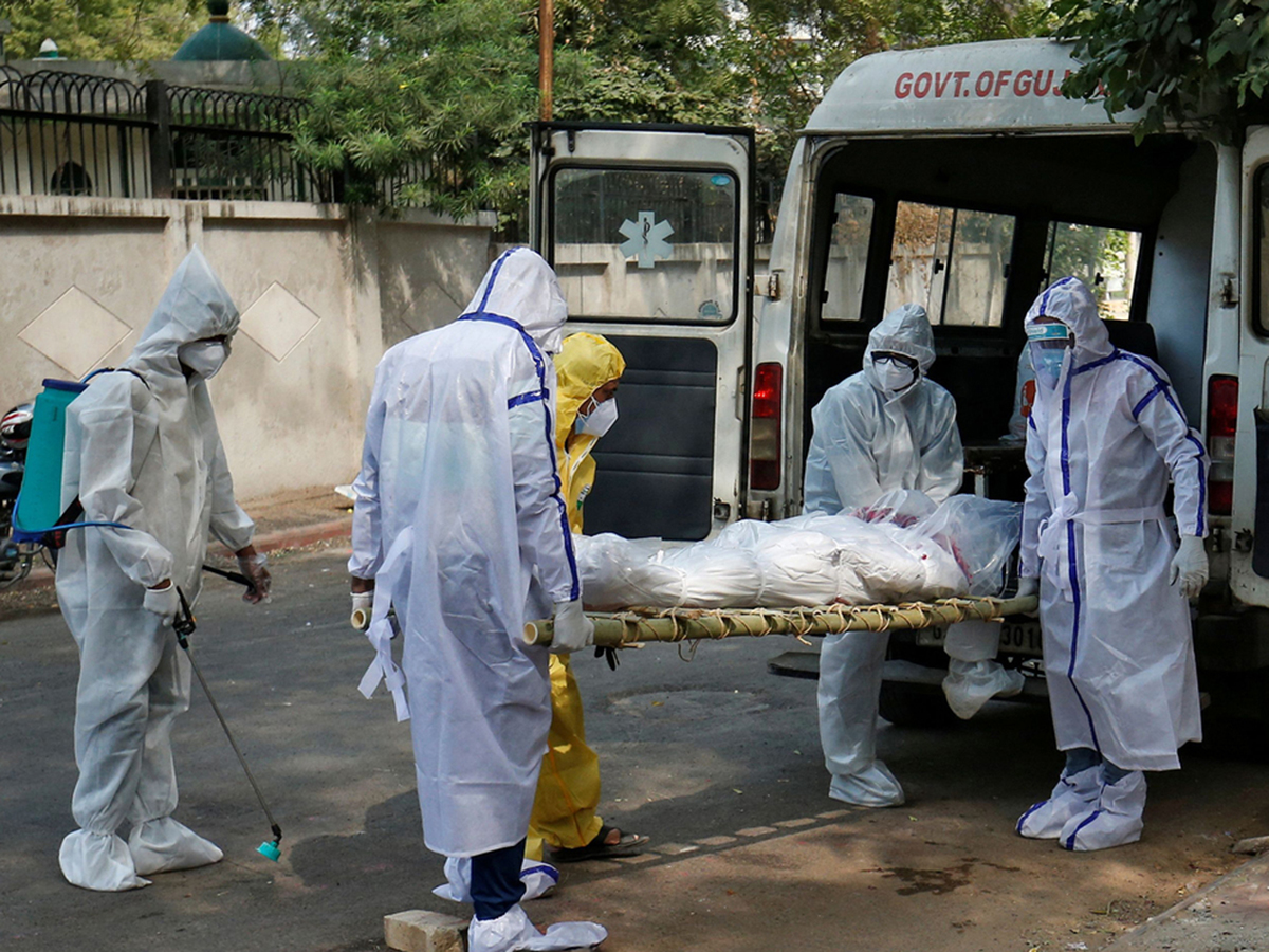 Смерти от коронавируса в США