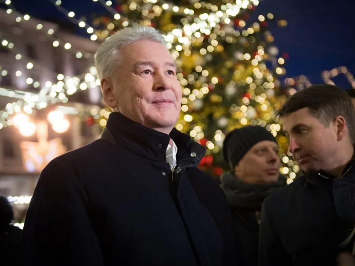 Собянин распорядился сделать 31 декабря выходным в Москве