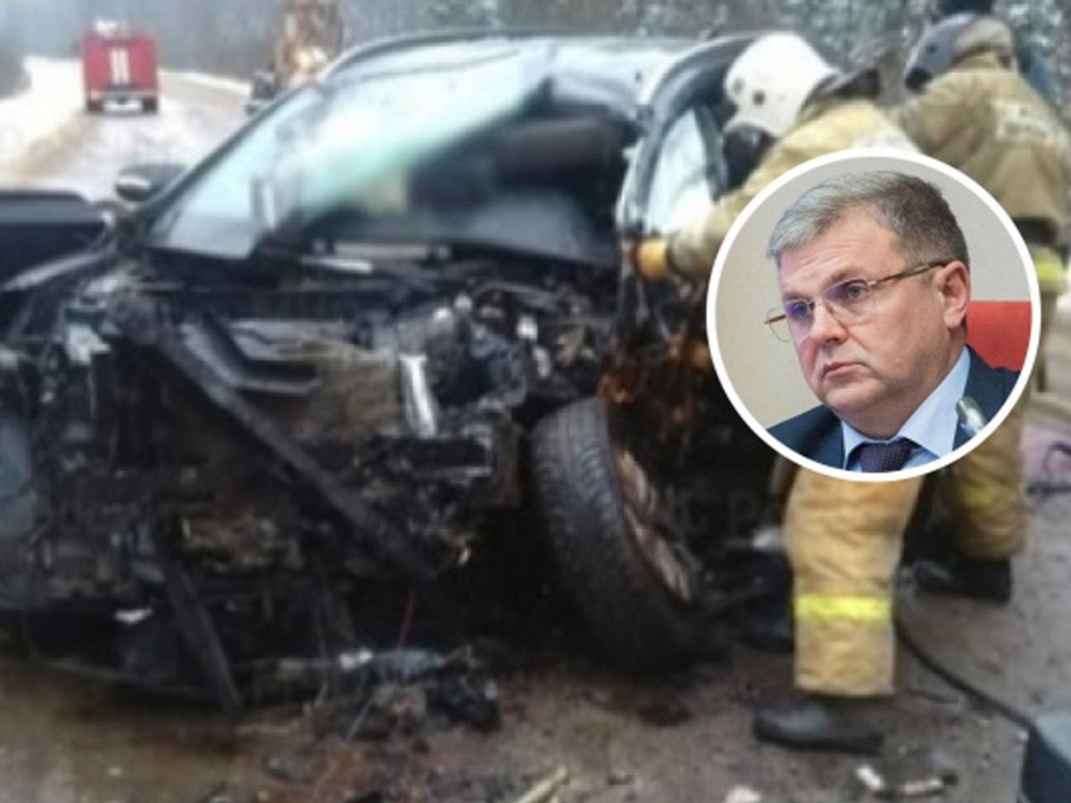 В ДТП погиб спикер Ярославской областной думы