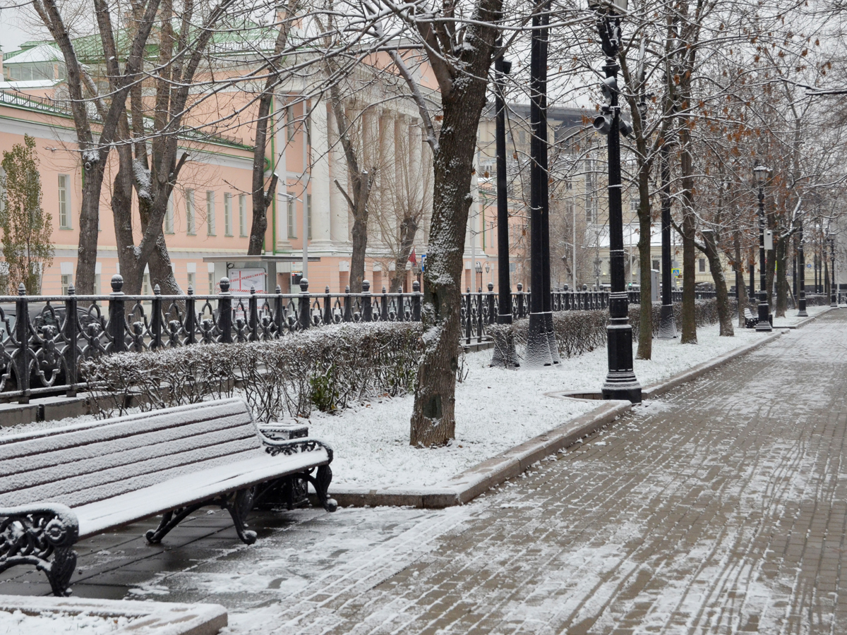 В Москве ударят сибирские морозы