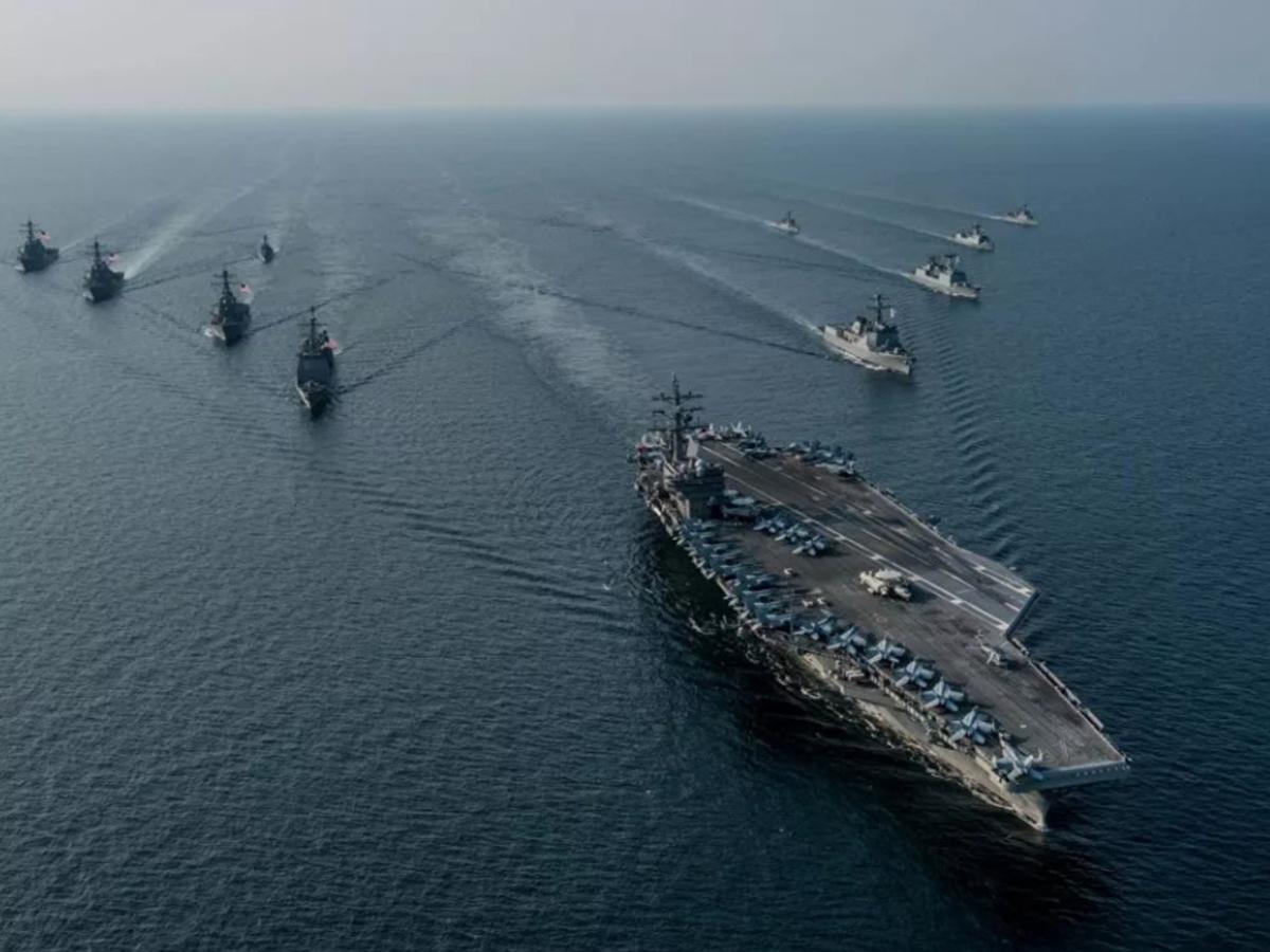 Российские корабли в Средиземном море