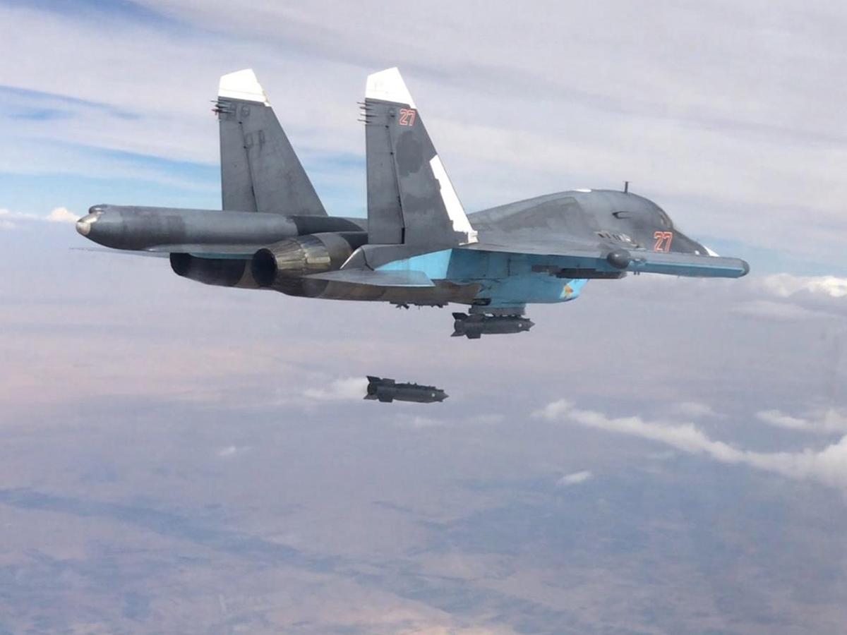 ВВС США «уничтожили» российские С-400, Су-34 и Т-72