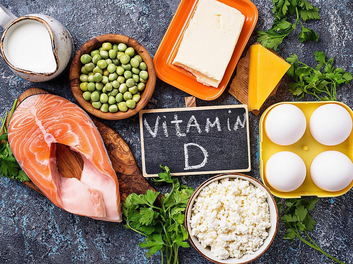 Продукты с витамином D