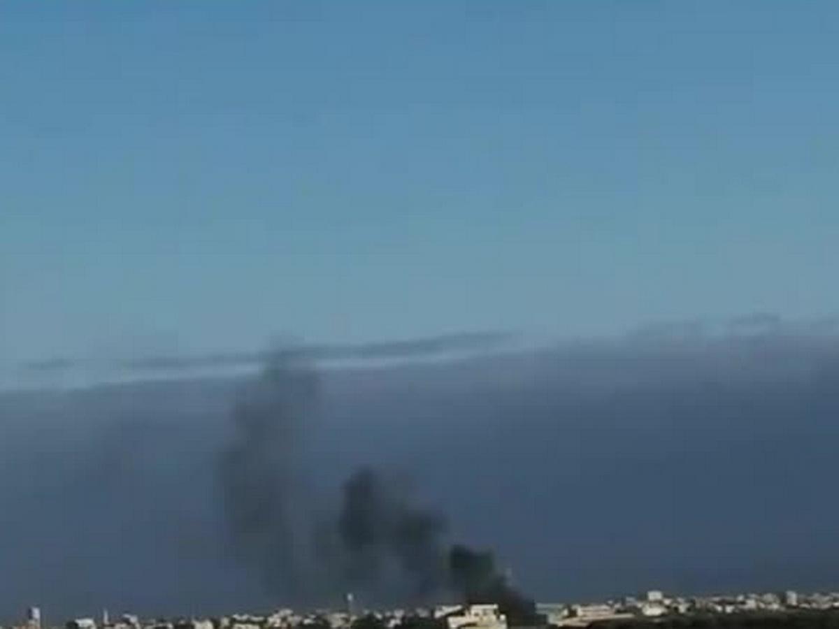 Ракетная атака нароссийских военных вСирии попала навидео