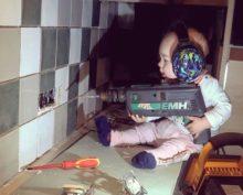 Любитель фотошопа шокировал Сеть фотографиями с дочкой