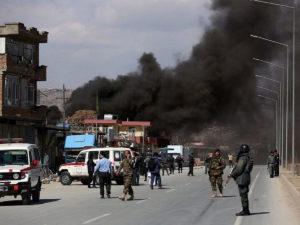 Автомобиль посольства России подорвался в Кабуле