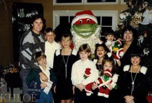 Семья Кардашьян в Рождество