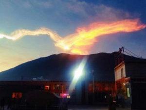 Падение метеорита в Китае сняли на видео