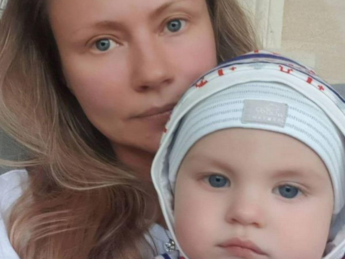 Мария Миронова с сыном Фёдором