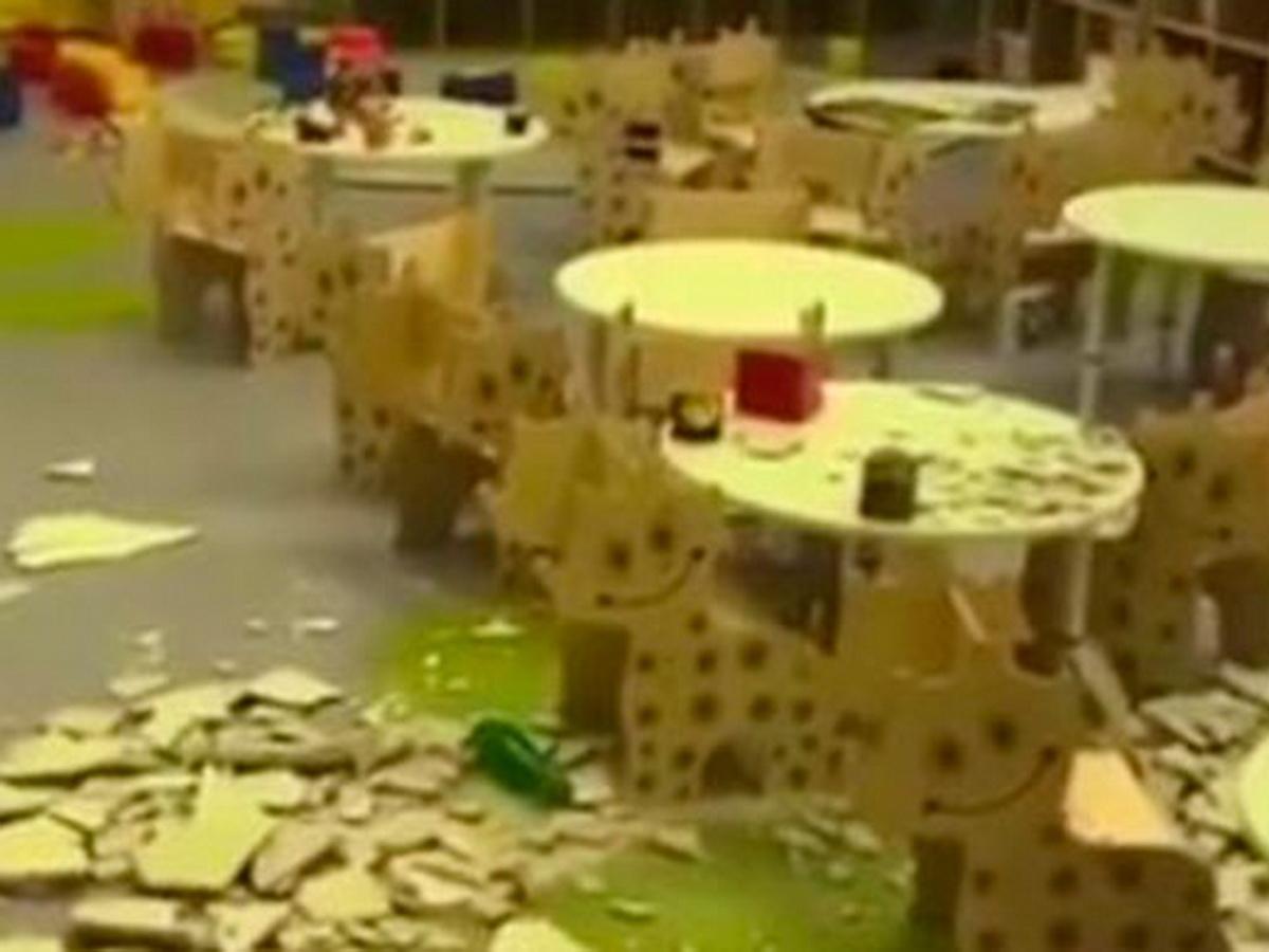 В Кемерове обрушился потолок в детском саду