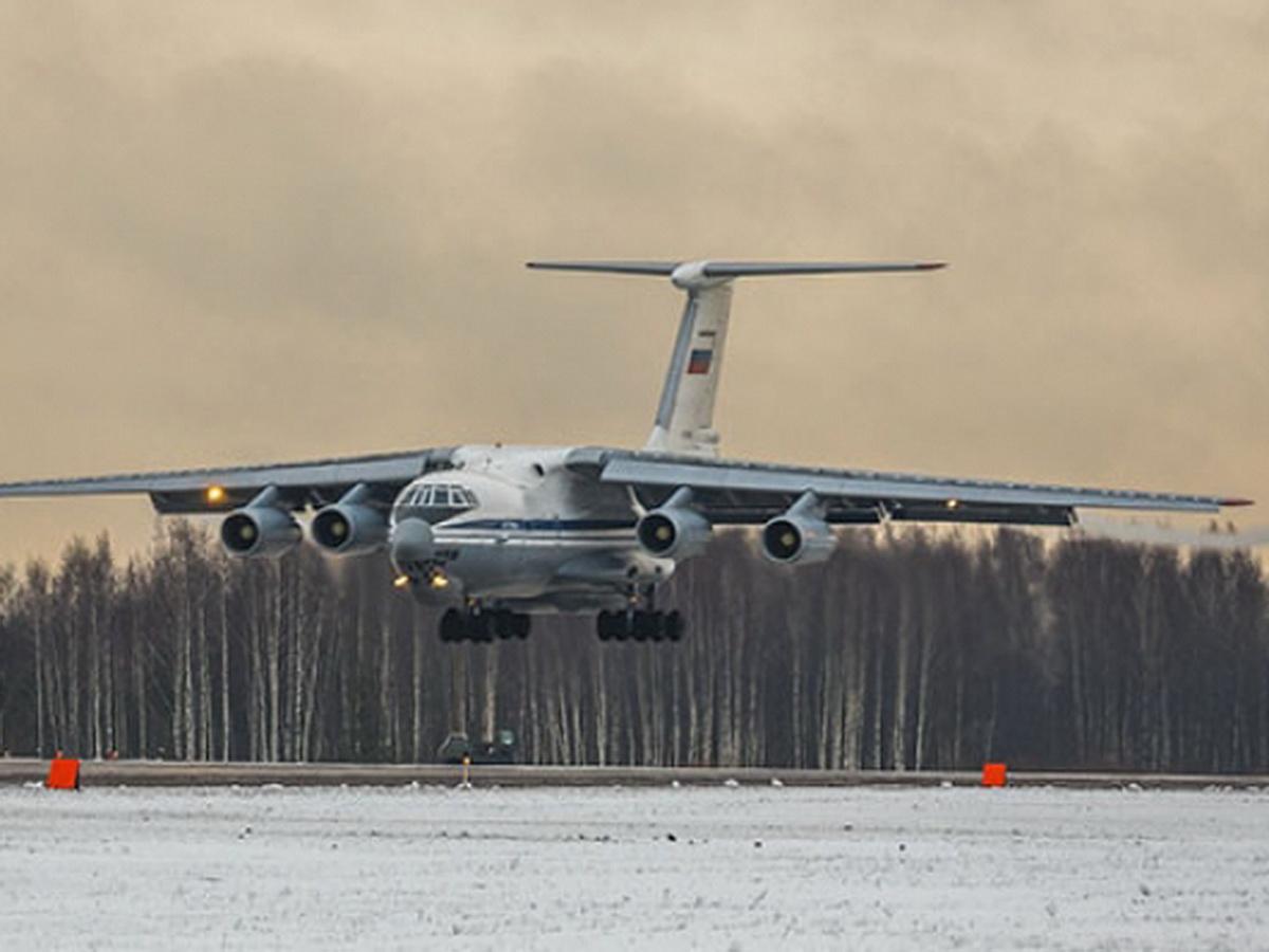 Самолет Минобороны РФ