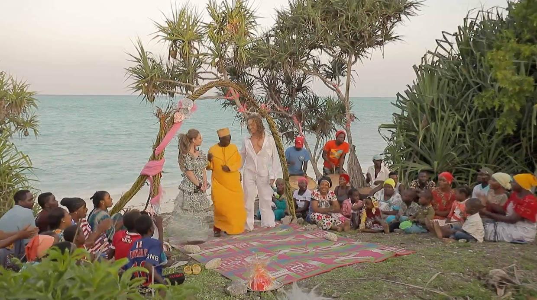 Наташа Королева после измены Тарзана сыграла свадьбу на Занзибаре