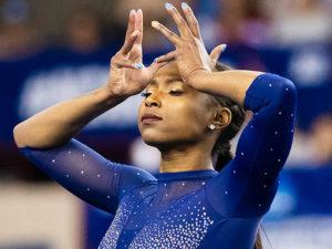 Видео гимнастки Ниа Деннис снова завирусилось в Сети