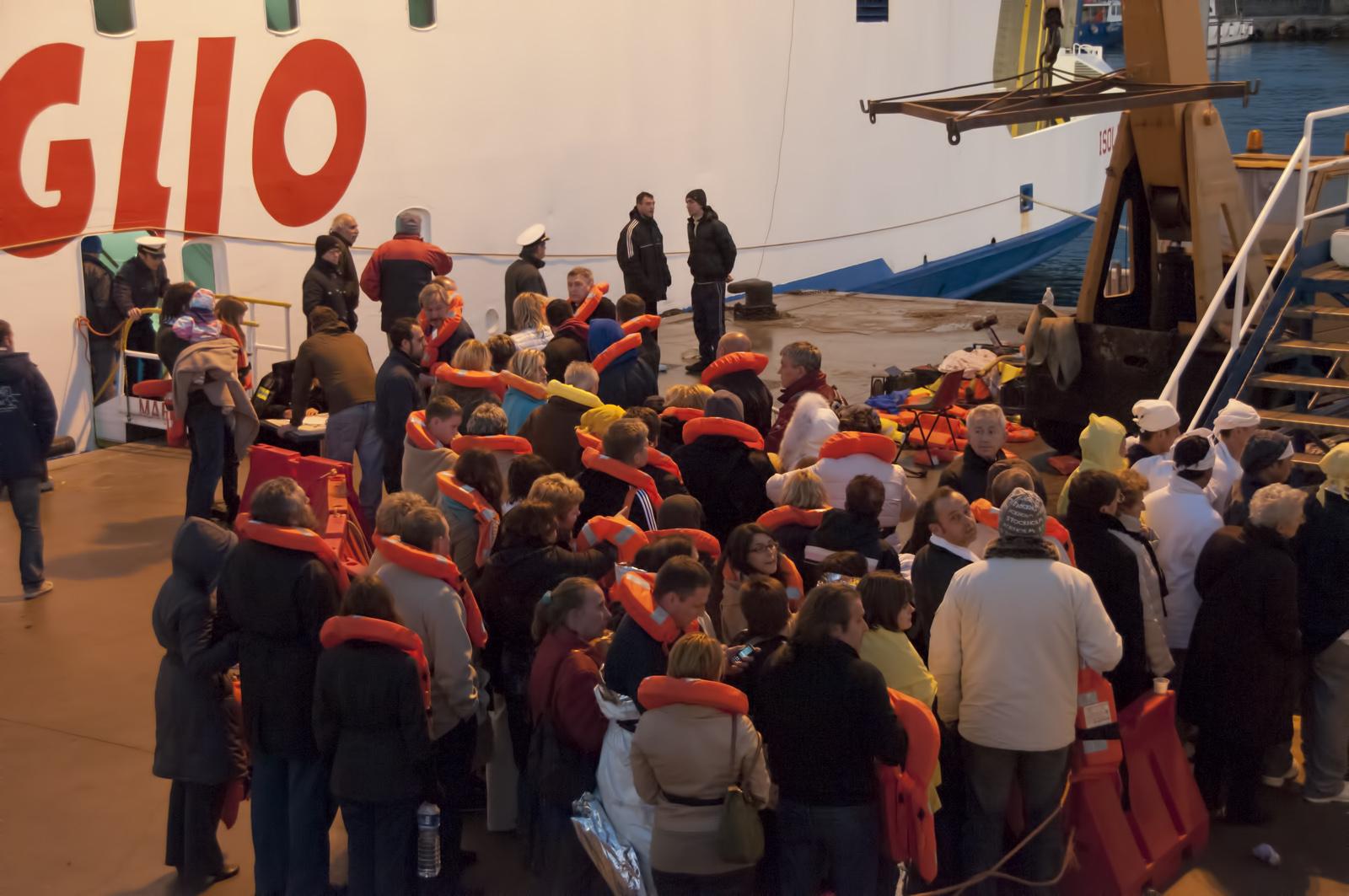 Последний день «Costa Concordia»