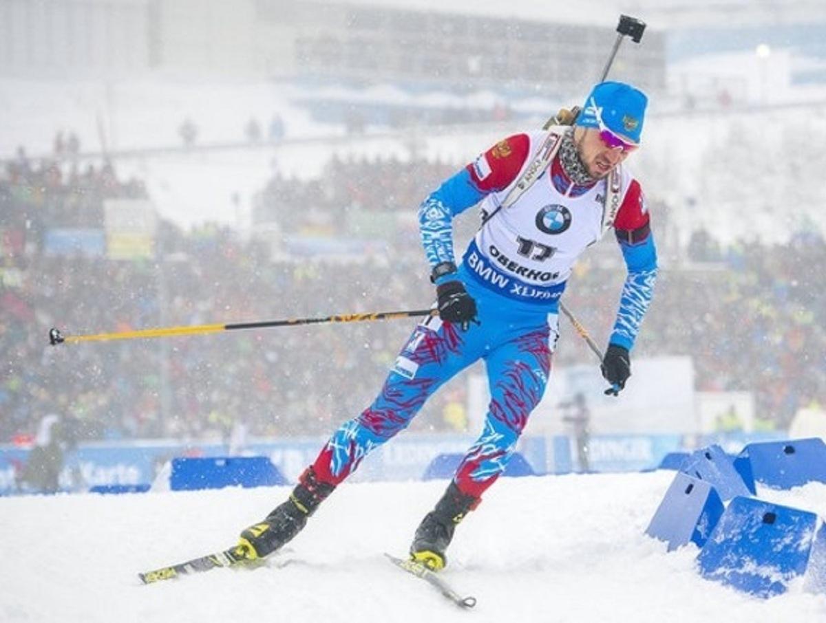 Сборная России по биатлону выиграла бронзу в эстафете на этапе Кубка мира